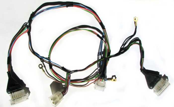 Жгут проводов коммутатора ВАЗ 2108 (2108-3724026-10) - изображение