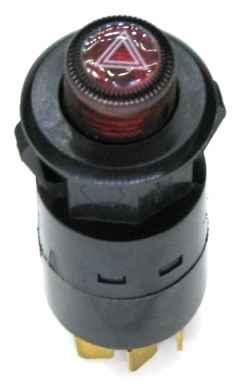 Кнопка аварийной сигнализации ВАЗ-2107 нового образца 7 контактов - изображение