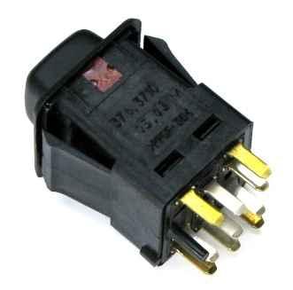 Кнопка аварийной сигнализации ВАЗ-2108 Автоарматура 83.3710/375.3710-05 - изображение 1