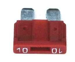 Предохранитель штекерный (флажковый) 10А (2110-3722110) - изображение