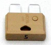 Предохранитель штекерный (флажковый)  5А - изображение