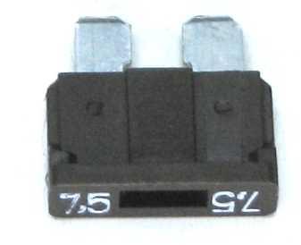 Предохранитель штекерный (флажковый)  7,5А (2110-3722107) - изображение
