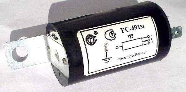 Реле указателей поворота 2101 (2101-3726400) - изображение