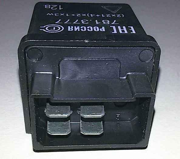 Реле указателей поворота ВАЗ 2105, 2121 Нива 4 контакта 781.3777 (2105-3747010) - изображение 2