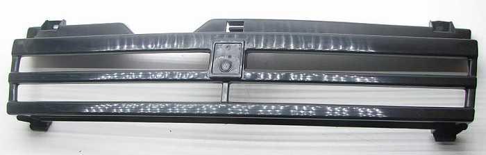 Решетка радиатора ВАЗ 21083 черная ПЛАСТИК (21093-8401016) - изображение