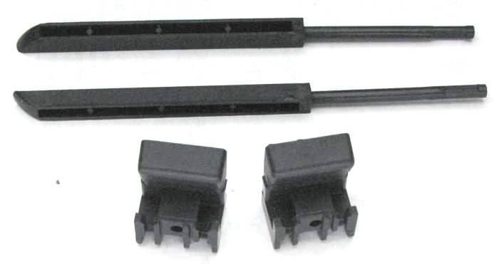 Ремкомплект крышки бардачка ВАЗ-2110 ПЛАСТИК (2110-5303056) - изображение