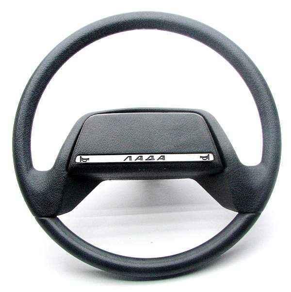 Руль ВАЗ 2110, ПЛАСТИК (2110-3402012) - изображение