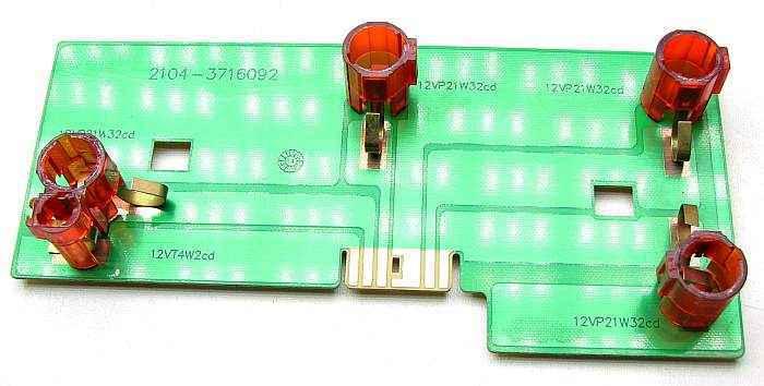 Плата заднего фонаря ВАЗ 2104 правая в сборе с патронами, без ламп (2104-3716090) - изображение