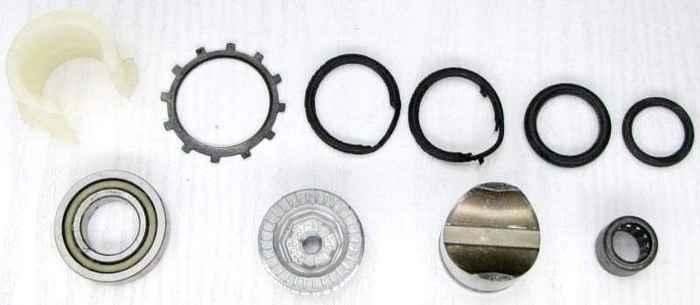 Ремкомплект рулевой рейки ВАЗ 2108 с подшипником (2108-3401022, 2108-3401020, ...) - изображение