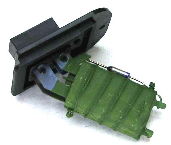 Резистор (сопротивление) отопителя ВАЗ 2110 (3 конт.) 2110.8118-022 - изображение