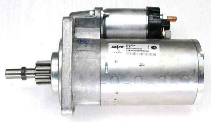 Стартер ВАЗ 2108 редукторный КЗАТЭ 5712.3708 (2108-3708010) - изображение