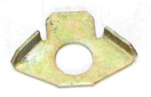 Шайба стопорная (серьга) болта суппорта ВАЗ 2101, БА (2101-3501037) - изображение