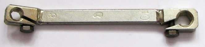 Ключ прокачки тормозов усиленный 8х10мм - изображение