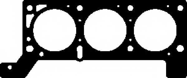 Прокладка головки цилиндра AJUSA 10163800 - изображение
