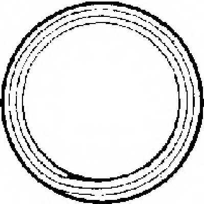 Уплотнительное кольцо выхлопной трубы AJUSA 19001100 - изображение