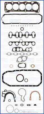Комплект прокладок двигателя AJUSA 50061800 - изображение