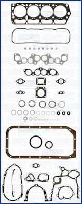 Комплект прокладок двигателя AJUSA 50098600 - изображение