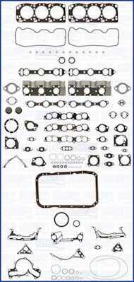 Комплект прокладок двигателя AJUSA 50122500 - изображение