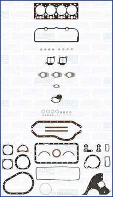Комплект прокладок двигателя AJUSA 50123300 - изображение