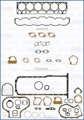 Комплект прокладок двигателя AJUSA 50158000 - изображение