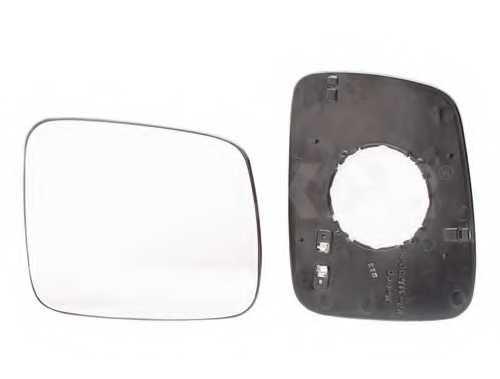 Зеркальное стекло наружнего зеркала ALKAR 6432986 - изображение