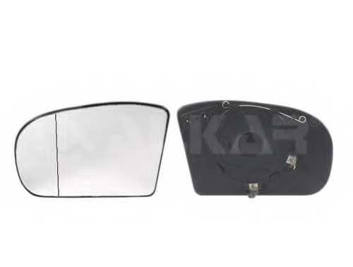 Зеркальное стекло наружнего зеркала ALKAR 6471534 - изображение