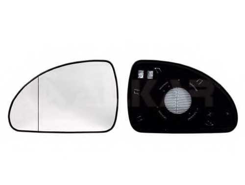 Зеркальное стекло наружнего зеркала ALKAR 6471638 - изображение