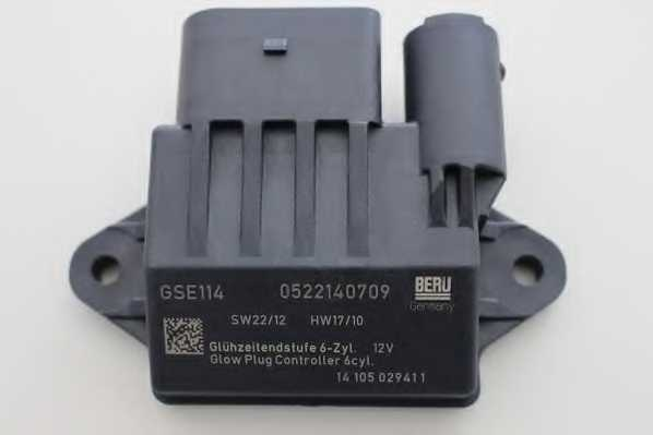 Блок управления, время накаливания BERU GSE114 - изображение