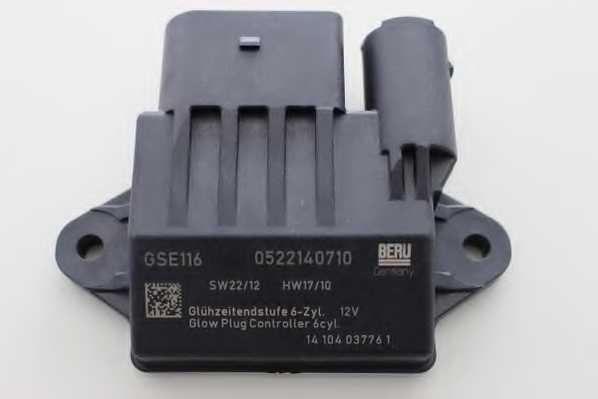 Блок управления, время накаливания BERU GSE116 - изображение