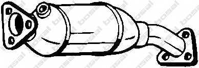 Катализатор BOSAL 099-602 - изображение