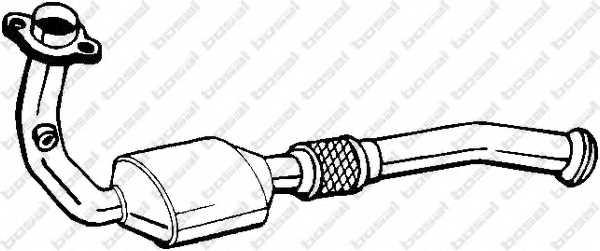 Катализатор BOSAL 099-838 - изображение