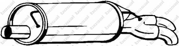 Глушитель выхлопных газов конечный BOSAL 105-011 - изображение