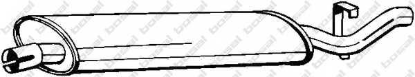 Глушитель выхлопных газов конечный BOSAL 148-325 - изображение