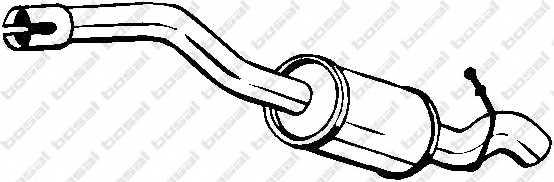 Глушитель выхлопных газов конечный BOSAL 154-419 - изображение