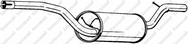 Средний глушитель выхлопных газов BOSAL 154-513 - изображение