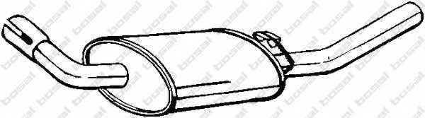 Глушитель выхлопных газов конечный BOSAL 154-871 - изображение