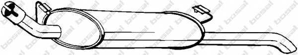 Глушитель выхлопных газов конечный BOSAL 185-141 - изображение