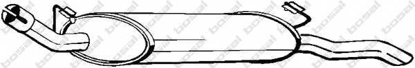 Глушитель выхлопных газов конечный BOSAL 185-143 - изображение