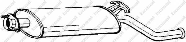 Глушитель выхлопных газов конечный BOSAL 215-211 - изображение