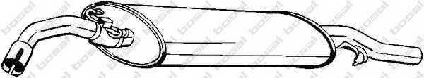 Глушитель выхлопных газов конечный BOSAL 233-409 - изображение