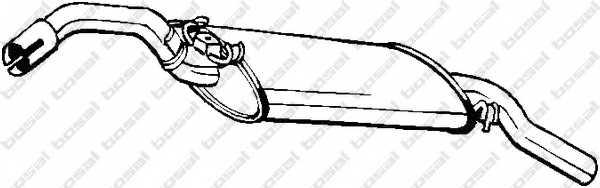Глушитель выхлопных газов конечный BOSAL 233-563 - изображение