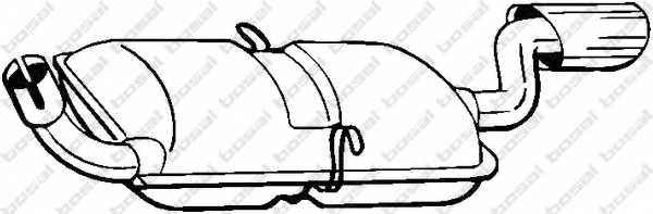 Глушитель выхлопных газов конечный BOSAL 235-193 - изображение