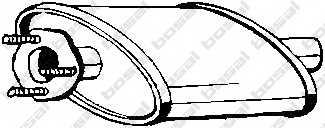 Предглушитель выхлопных газов BOSAL 235-941 - изображение