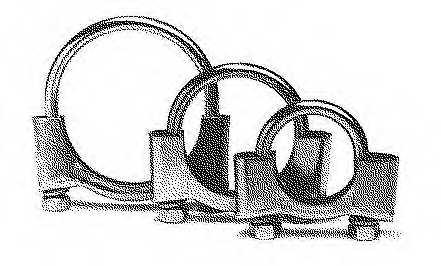 Клемма системы выпуска BOSAL 250-252 - изображение 1