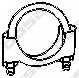 Клемма системы выпуска BOSAL 250-260 - изображение
