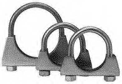 Клемма системы выпуска BOSAL 250-854 - изображение 1