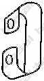 Кронштейн системы выпуска ОГ BOSAL 251-235 - изображение