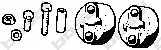 Резиновые полоски системы выпуска BOSAL 254-020 - изображение
