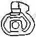 Резиновые полоски системы выпуска BOSAL 255-026 - изображение