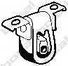 Резиновые полоски системы выпуска BOSAL 255-034 - изображение